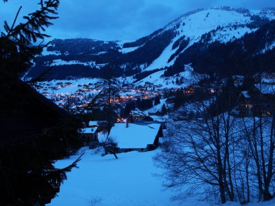 Chatel at night