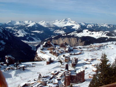 Avoriaz is easily reached from Chatel