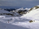 Skiing near Avoriaz